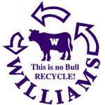 Williams recycles
