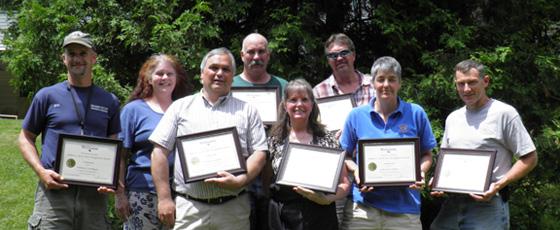 The 2012 Bob Jarvis Award Winners