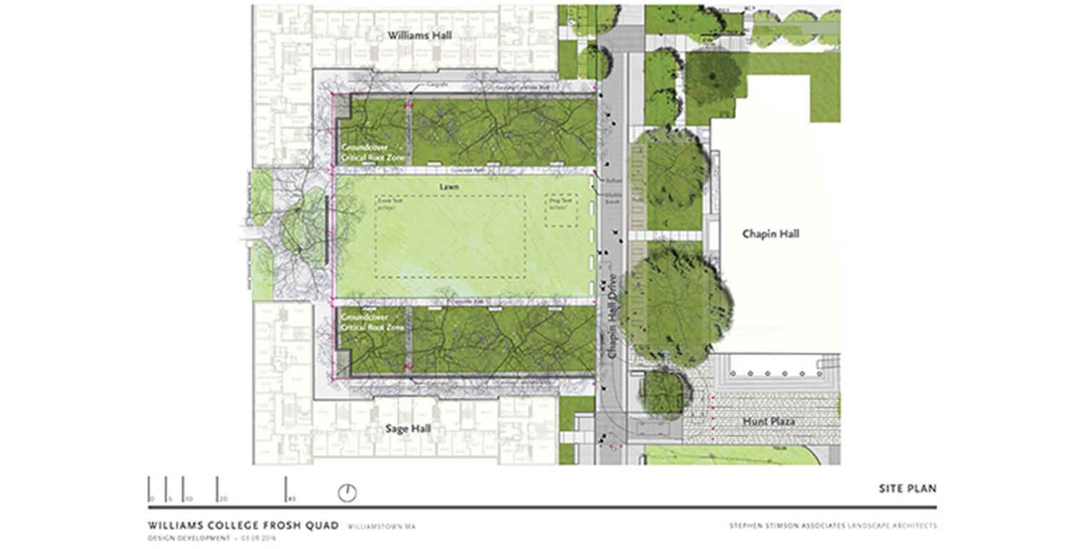 Frosh Quad - Site Plan