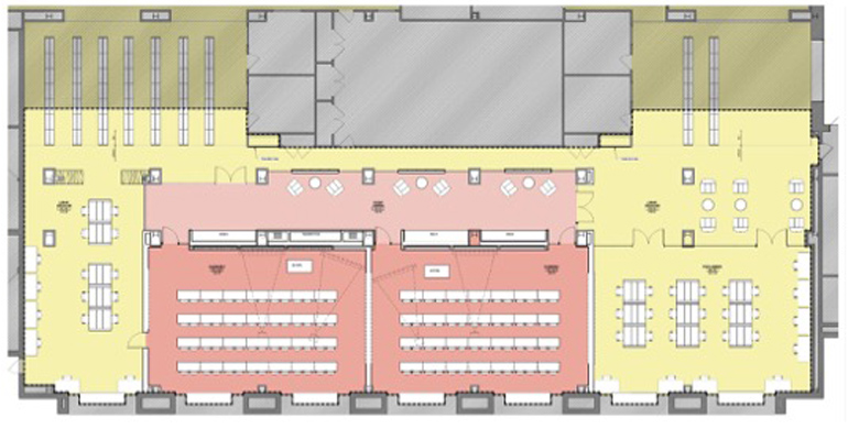 Schow Library Classrooms - Floor Plan