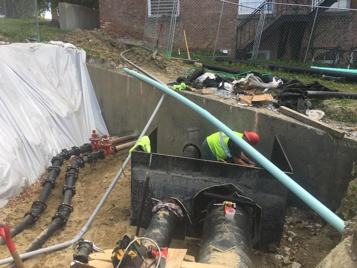 Early Utility Enabling Work