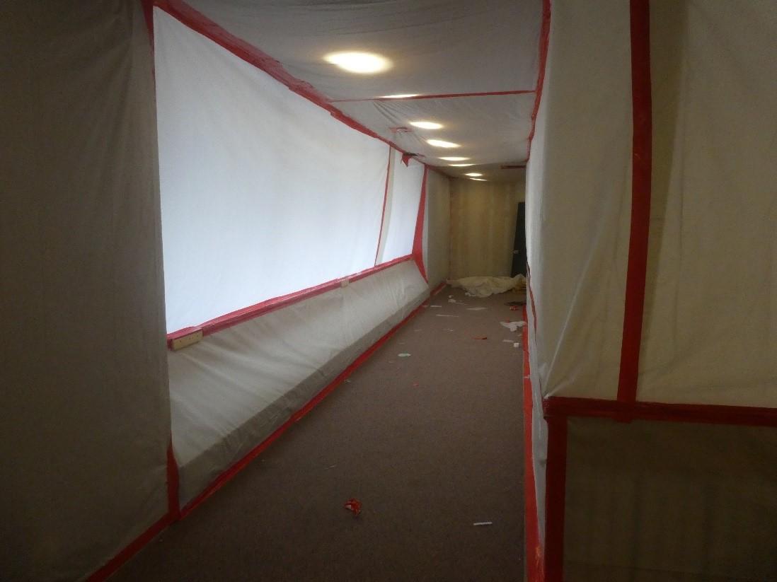 Early Hazardous Abatement Work on Bronfman North Wing